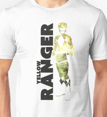 MMPR Yellow Ranger Print Unisex T-Shirt