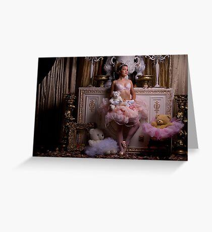 Princess in Her Bedroom Greeting Card