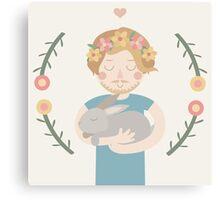 Cuddly. Canvas Print