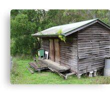 bush shack Canvas Print