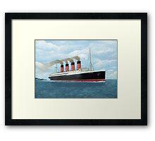 Lusitania Framed Print
