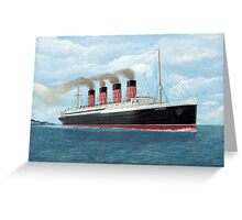 Lusitania Greeting Card