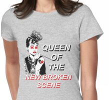 Queen of the New Broken Scene -  5SOS Womens Fitted T-Shirt