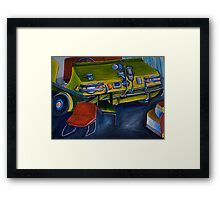 The old Hef  Framed Print