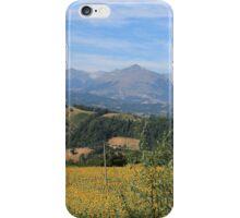 Le Marche Mountains iPhone Case/Skin