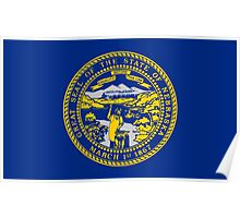 State Flags of the United States of America -  Nebraska Poster