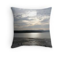 Browns Bay Throw Pillow