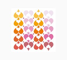 Hearts Lined Up Unisex T-Shirt