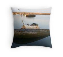 Submerged Ship Throw Pillow