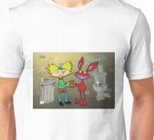 Aaahh!!! Real Arnold! Unisex T-Shirt