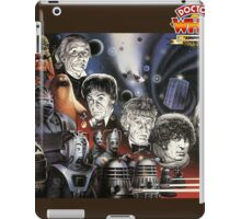 dr who 50th iPad Case/Skin