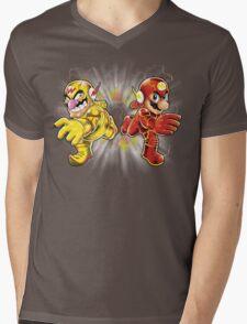 Super Flashy Rivals Mens V-Neck T-Shirt