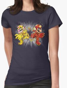 Super Flashy Rivals Womens Fitted T-Shirt