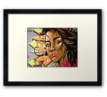 Urban Beauty Framed Print