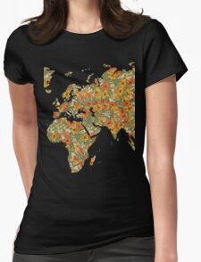Mucha world Womens Fitted T-Shirt
