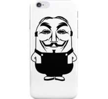 Minion anonymous iPhone Case/Skin