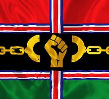 VICTORY Version Pan-African Flag by creativenergy