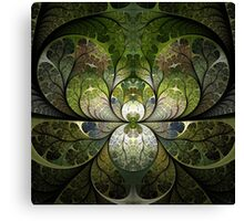 Spring Stained Glass Canvas Print