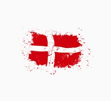 Denmark Flag - Vintage Look Unisex T-Shirt