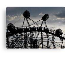 Cliff's Amusement Park Canvas Print