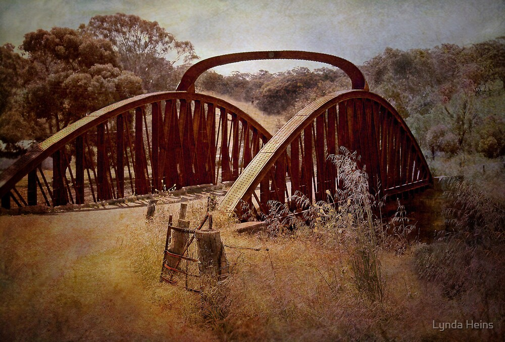 ~The Old Bridge ~ by Lynda Heins