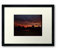 A night to Remmember - Before the Storm Framed Print