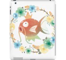 Flower Wreath Shiny Magikarp iPad Case/Skin