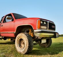 Bobby´s Tough GMC Truck  by chrisyfitzuk