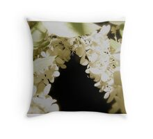 Fairy Land Night Scapes- Entrance to the Fairy Snow Ball Throw Pillow