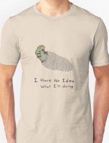 Confused Caterpillar Unisex T-Shirt