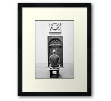 The Patron Framed Print