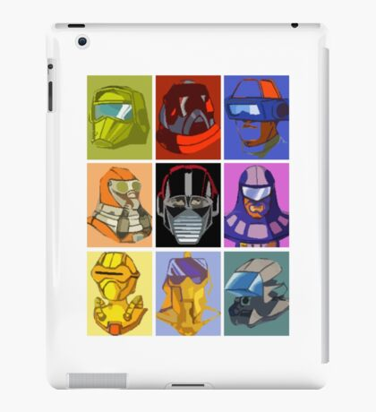 Mobile Armored Strike Kommand iPad Case/Skin