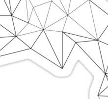 Geometric Wave Sticker