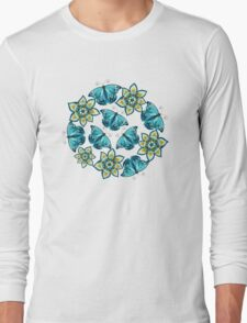 Blue butterflies Long Sleeve T-Shirt