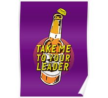 Take Me To Your Leader (Brave Brew World) Poster