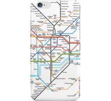 London Underground MAP iPhone Case/Skin