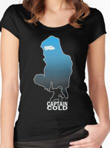 Captain Cold Women's Fitted Scoop T-Shirt