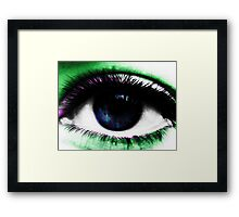 Psychedelic Eye Framed Print