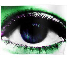 Psychedelic Eye Poster