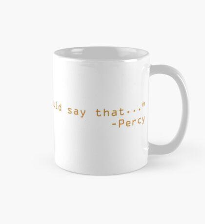 Percy Jackson the troubled one  Mug