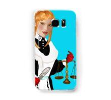 Justice Tarot Card Samsung Galaxy Case/Skin