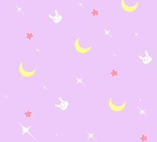 Sailor Moon Bunny Blanket by urukate