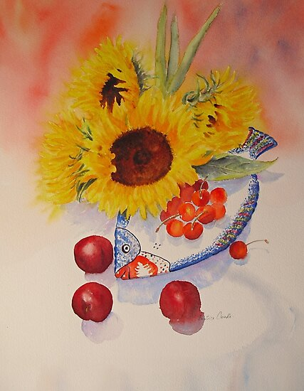 SUNFLOWERS by Beatrice Cloake