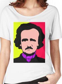 Edgar Allan Poe (Pop-Art) Women's Relaxed Fit T-Shirt