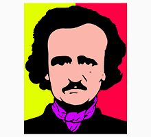 Edgar Allan Poe (Pop-Art) Women's Fitted Scoop T-Shirt