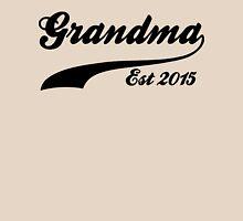 Grandma Est 2015 Womens Fitted T-Shirt