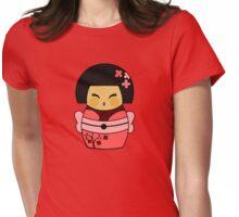 Kokeshi Sakura Womens Fitted T-Shirt
