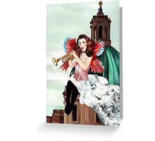 Angel of judgement  Greeting Card