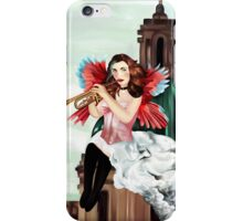 Angel of judgement  iPhone Case/Skin
