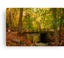Headless Horseman Bridge. Canvas Print